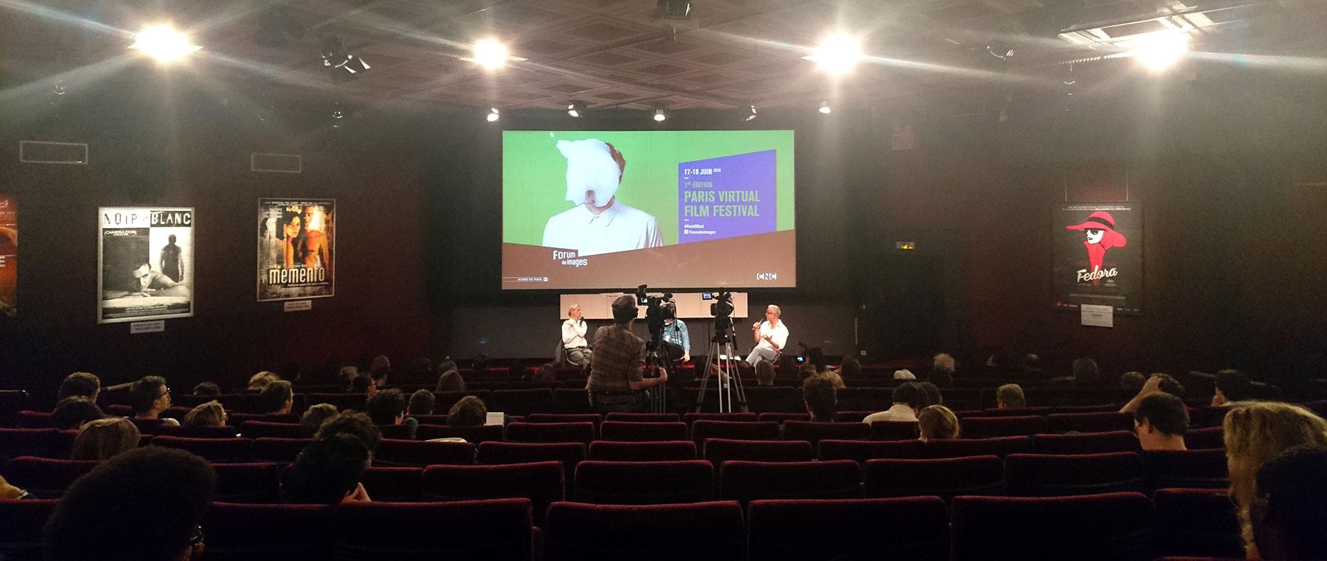 "Conférence ""L'avenir de la VR"" avec Morgan Bouchet (@morganbouchet), Michel Reilhac @michelreilhac et Philippe Fuchs"